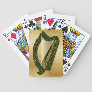 Irish Harp - Playing Cards - 1