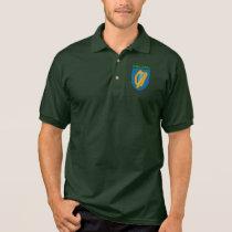 Irish Harp Polo Shirt