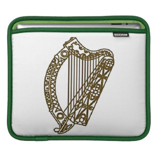 Irish Harp rickshaw sleeve