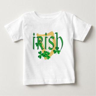 Irish Harp Shamrock Baby shirt