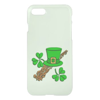 Irish Hat and Shamrocks iPhone 7 Case