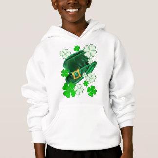 Irish Hat and Shamrocks Shirts