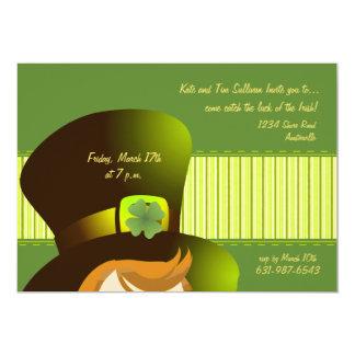 Irish Hat Party Invitation
