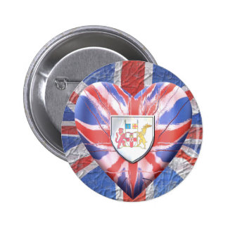 Irish Heart Button