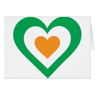 Irish Heart Greeting Cards