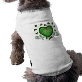 Irish heart Erin Go Bragh green heart T-Shirt