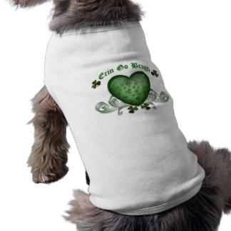 Irish heart Erin Go Bragh green heart Tee