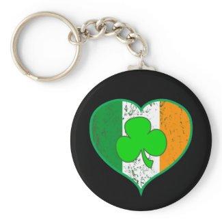 Irish Shamrock Heart
