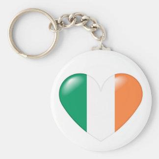 Irish heart keychain - Croí Éireannach