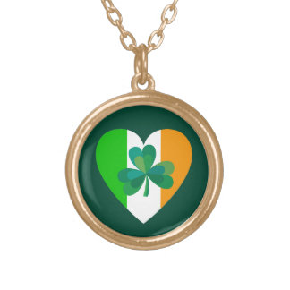 Irish Heart Necklace
