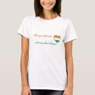 Irish Heart-St Patrick's day T-Shirt