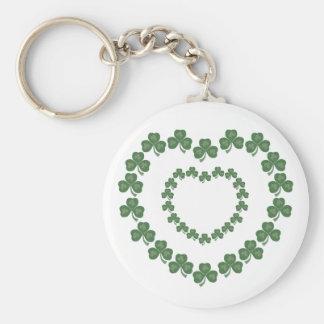 Irish Hearts Keychain
