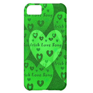 Irish Hearts Lucky St. Pat's Day Collection Case For iPhone 5C
