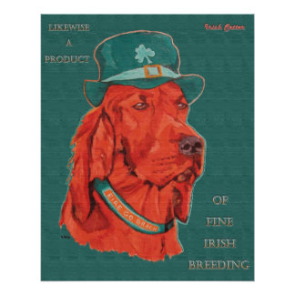 Irish Heritage Dog poster