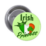Irish Heritage Princess Button