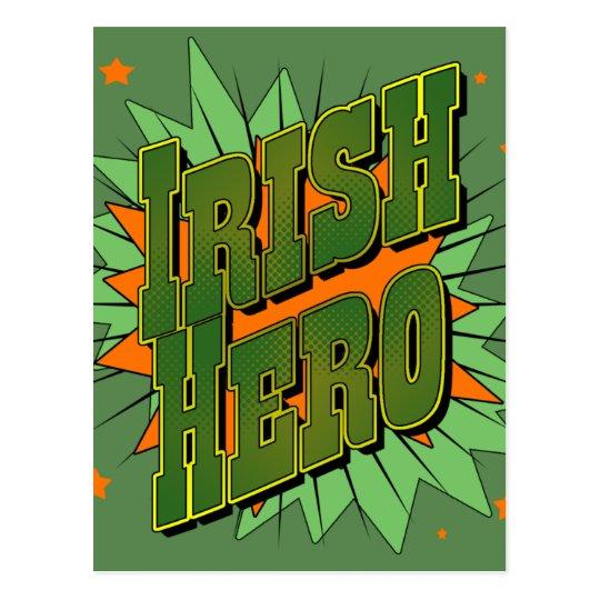 Irish Hero Postcard