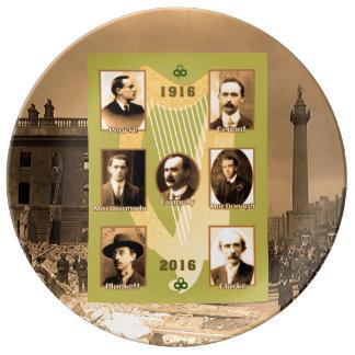 Irish Heroes image for Decorative Porcelain Plate