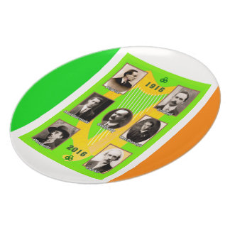 Irish Heroes image for Melamine-Plate Melamine Plate
