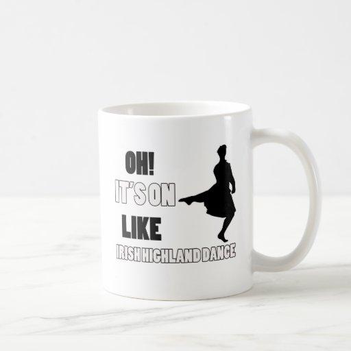 Irish Highland Dance Designs Coffee Mugs