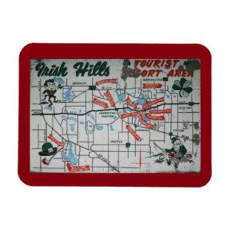 Irish Hills Michigan Resort Area Magnet
