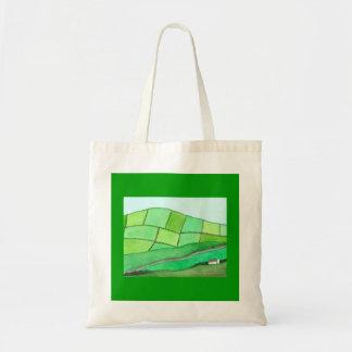 """""""Irish Hillside"""" Totebag Tote Bag"""