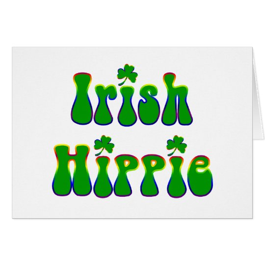 Irish Hippie Card