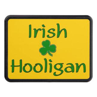 Irish Hooligan and Shamrock Trailer Hitch Covers