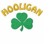 Irish Hooligan Black Polo Shirt
