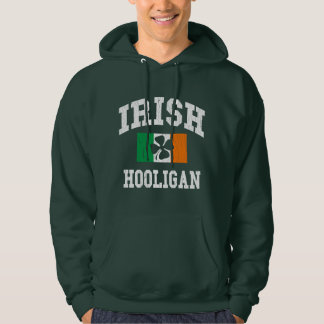 Irish Hooligan Distressed Design Sweatshirt