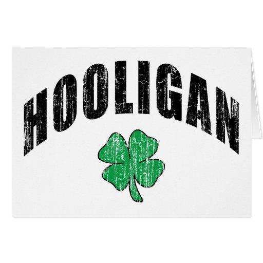 Irish Hooligan Gift Card