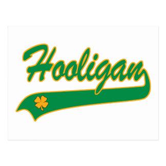 Irish Hooligan Postcard