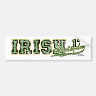 Irish Hooligan Sticker Car Bumper Sticker