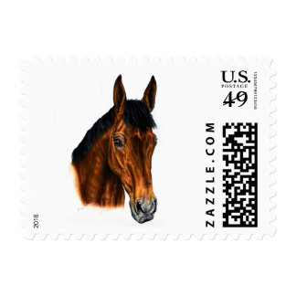 Irish Horse Drawing Postage