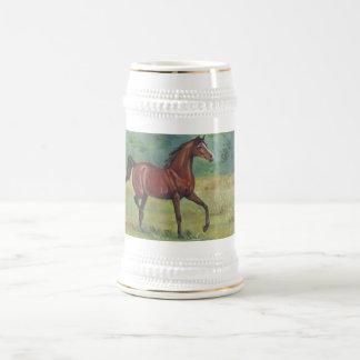 Irish Horse Painting By Joanne Casey - Mug
