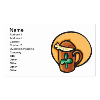 Irish Hot Chocolate Business Cards