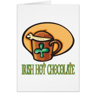 Irish Hot Chocolate Greeting Cards