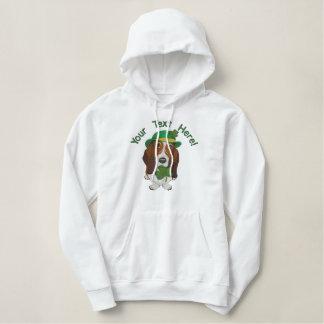 Irish Hound Embroidered Hoodie