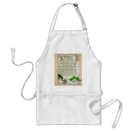 Irish House Blessing apron