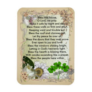 Irish House Blessing magnet