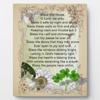 Irish House Blessing plaque