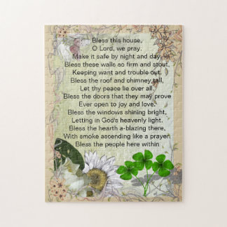 Irish House Blessing puzzle