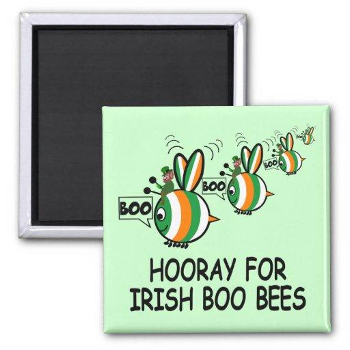 Irish humour 2 inch square magnet