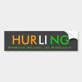 Irish Hurling Bumper Sticker