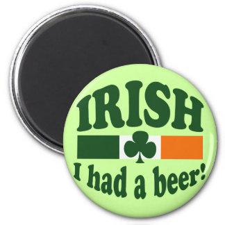 Irish I Had A Beer Magnet