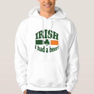 Irish I Had A Beer Sweatshirt