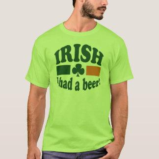 IRISH I HAD A BEER T-Shirt