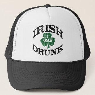 Irish I Was Drunk Trucker Hat