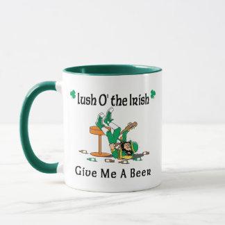 Irish I Were Drunk Lush O'the Irish Mug