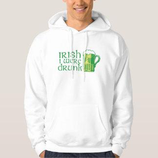 Irish I Were Drunk St. Patrick's Day Hoodie