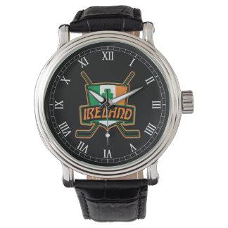 Irish Ice Hockey Logo Wrist Watch